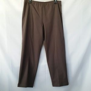 Eileen Fisher Pull On Ankle Pants Size M